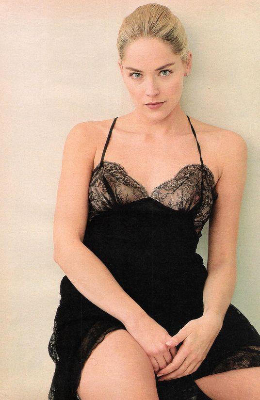 Шэрон Стоун фото белье Sharon Stone photo underwear