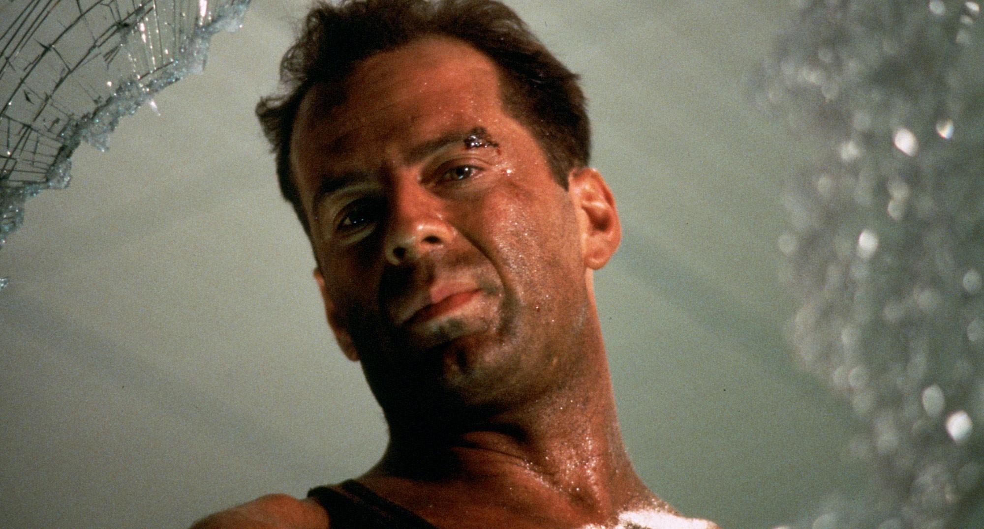 10 лучших ролей Брюса Уиллиса 1988 Крепкий орешек (Die Hard)
