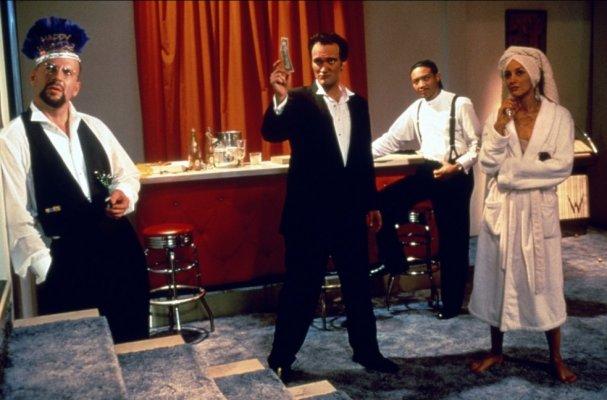 10 лучших ролей Брюса Уиллиса 1995 Четырe комнаты (Four Rooms)