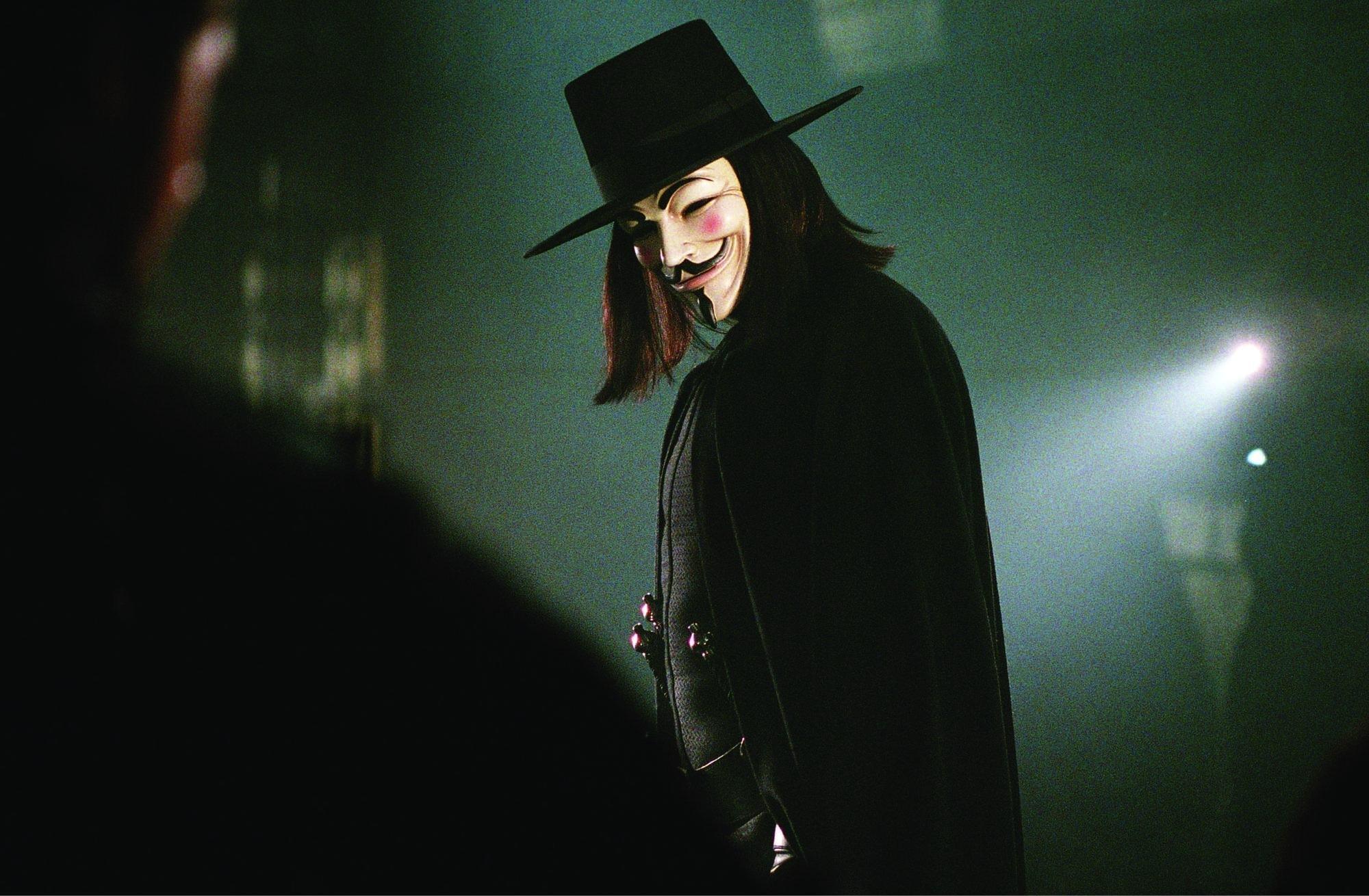 Top 250 фильмов IMDb В значит Вендетта (V for Vendetta) (2005)