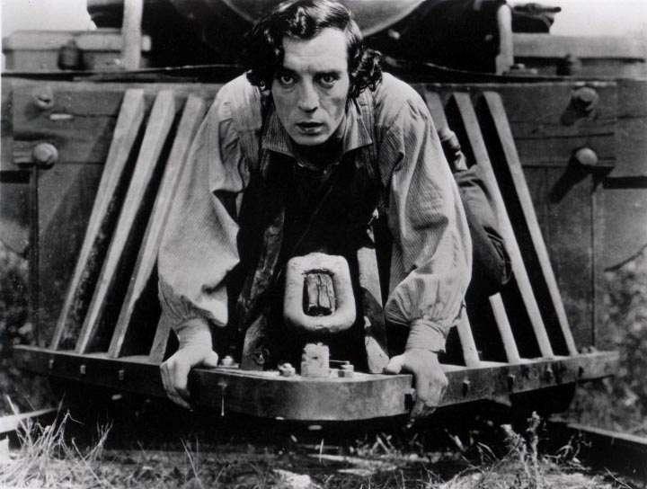 Top 250 фильмов IMDb Паровоз Генерал (The General) (1926)
