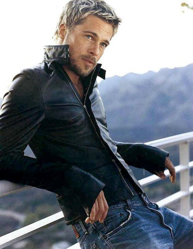 Брэд Питт фото джинсы Brad Pitt photo Fight jeans