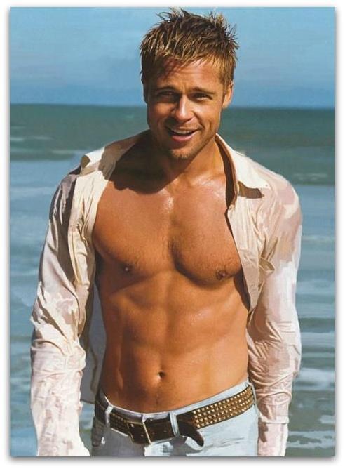 Брэд Питт фото тело Brad Pitt photo body