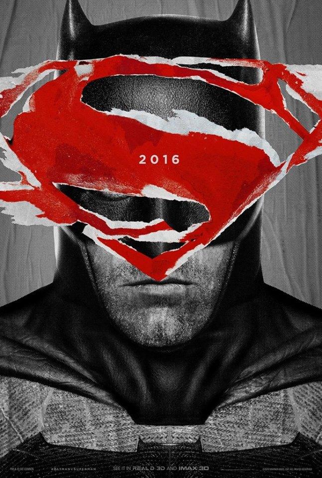Бэтмен против Супермена постер Аффлек