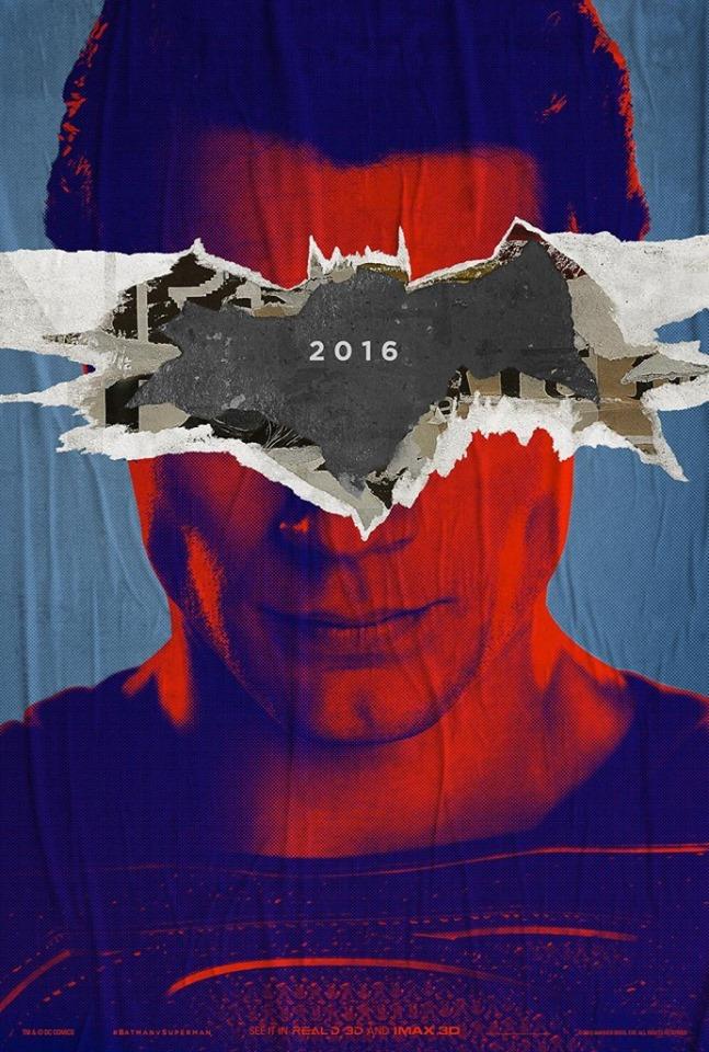 Бэтмен против Супермена постер Кавилл