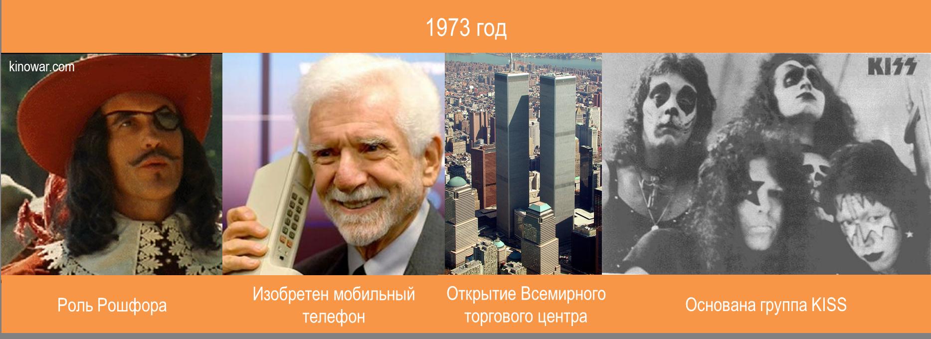 Жизнь и карьера Кристофера Ли 1973 год
