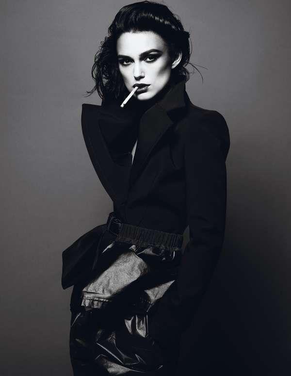 Кира Найтли фото сигарета Keira Knightley photo cigarette