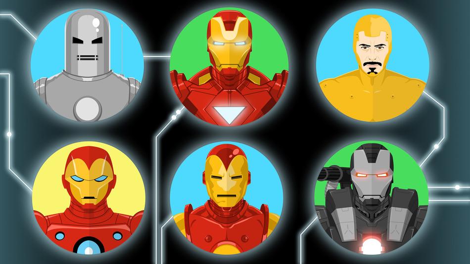 Костюм Железного человека Iron Man suite