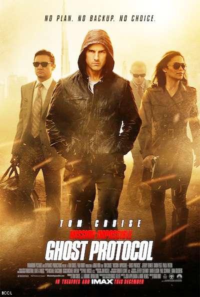 Миссия невыполнима Протокол Фантом (Mission Impossible - Ghost Protocol) постер