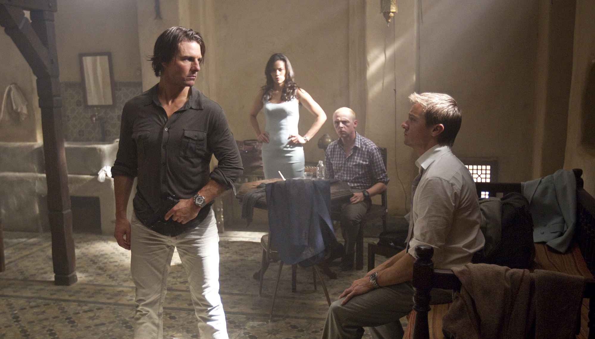 Миссия невыполнима Протокол Фантом (Mission Impossible - Ghost Protocol) эволюция Том Круза в фильмах