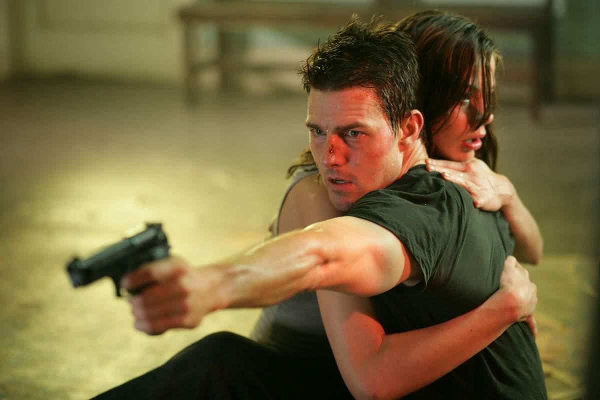 Миссия невыполнима 3 (Mission Impossible 3) 2000 год эволюция Том Круз