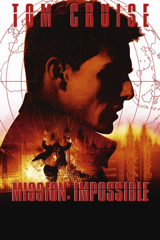 Миссия невыполнима (Mission Impossible) 1996 год постер