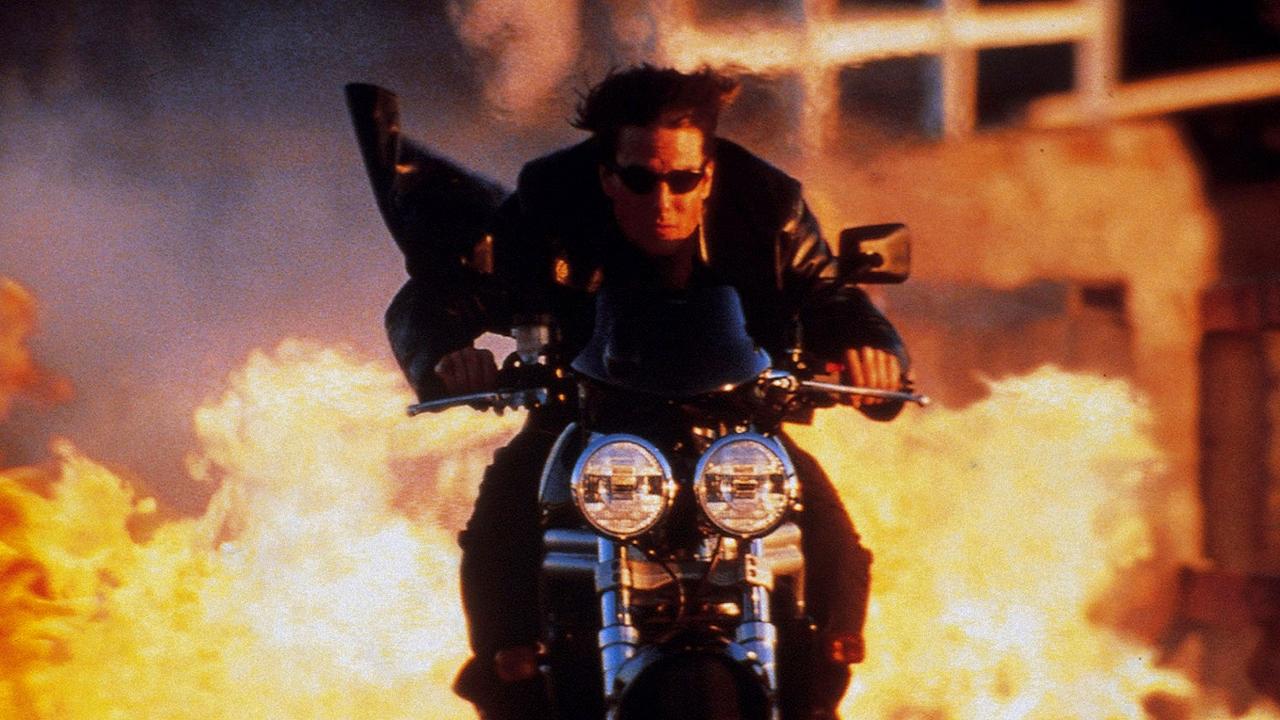 Миссия невыполнима (Mission Impossible) 2000 год мотоцикл Том Круз