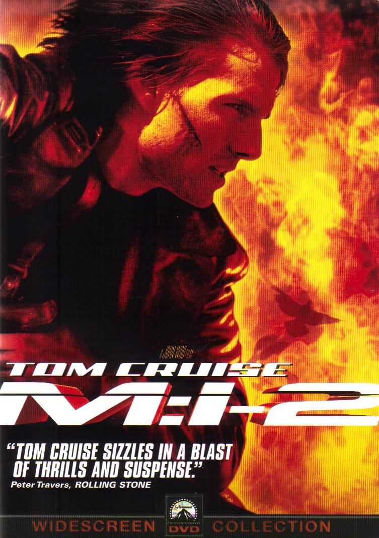 Миссия невыполнима (Mission Impossible) 2000 год постер
