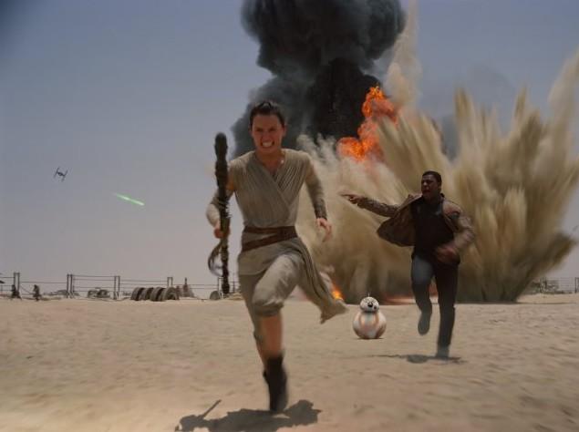 Новые Звездные войны кадры 2