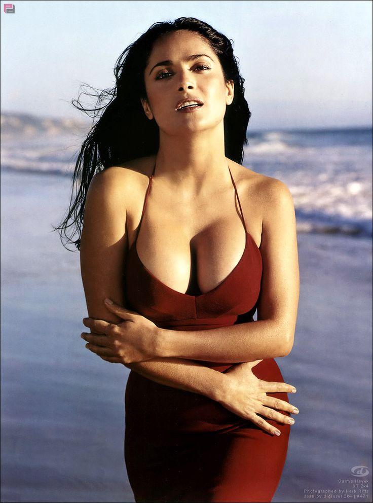 Сальма Хайек фото грудь Salma Hayek photo boobs