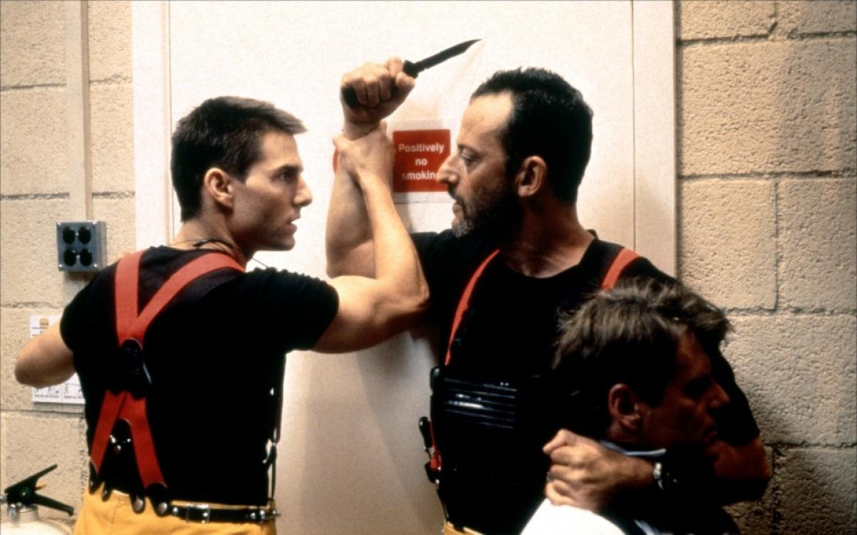 Эволюция лица Том Круз Миссия невыполнима (Mission Impossible) 1996