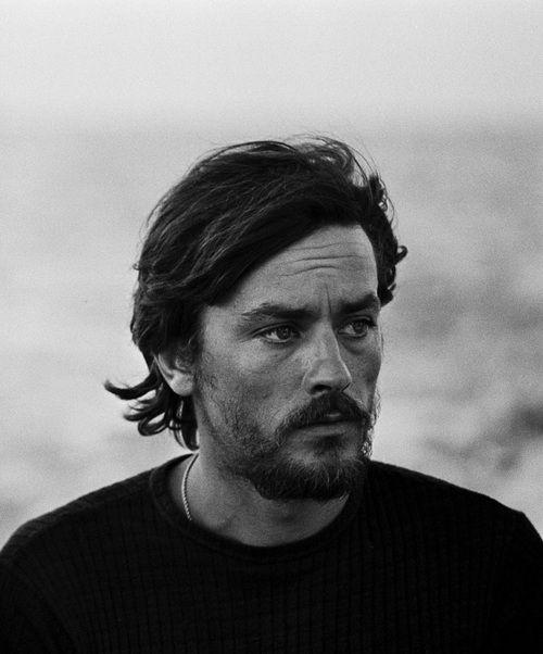 Ален Делон фото борода Alain Delon photo beard