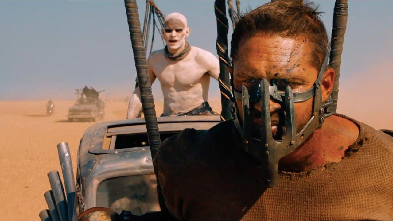 Безумный Макс Дорога ярости (Mad Max Fury Road) Том Харди маска