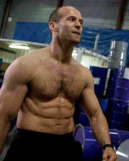 Джейсон Стэтхем фото мышцы Jason Statham photo workout