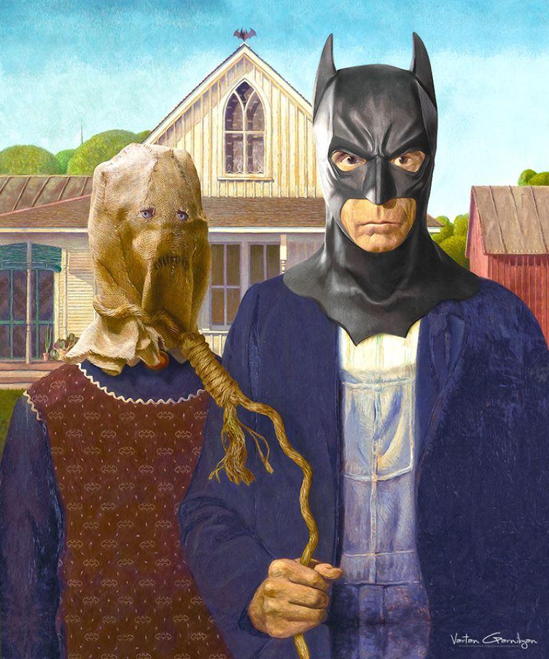 Классические картины Бэтмен
