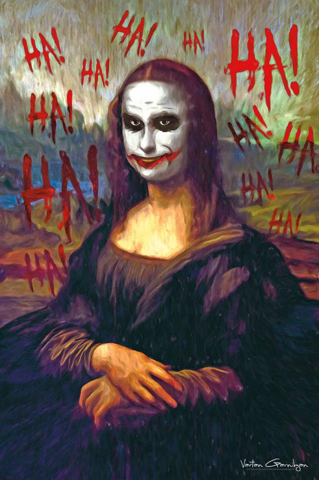 Классические картины Джокер Мона Лиза