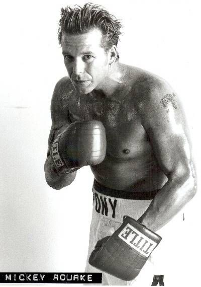 Микки Рурк фото боксер Mickey Rourke photo boxing