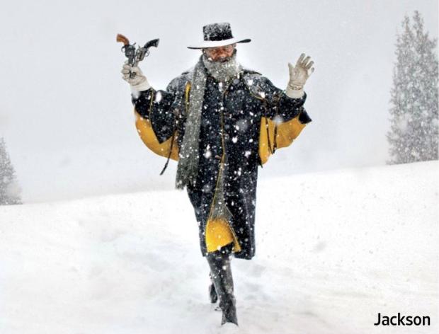 Омерзительная восьмерка Тарантино первые фото Сэмюэль Джексон