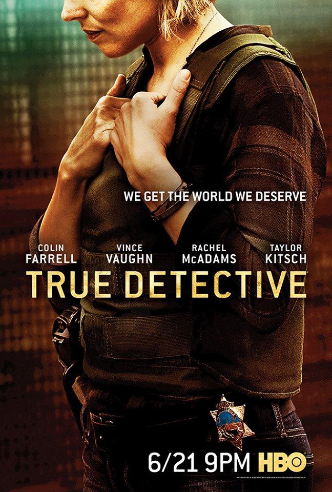 Постер Настоящий детектив второй сезон Рэйчел Макадамс