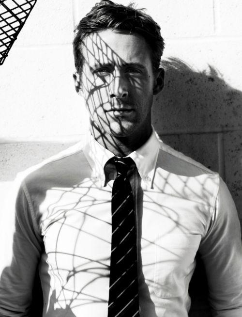 Райан Гослинг фото галстук  Ryan Gosling photo tie