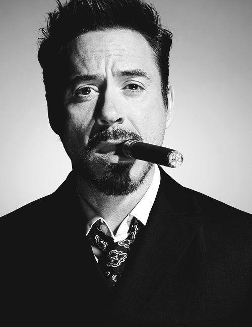 Роберт Дауни-младший фото сигара Robert Downey Jr. photo cigar