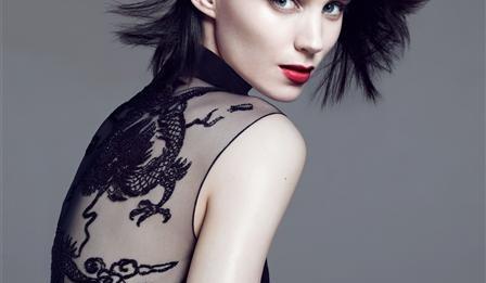 Руни Мара фото Девушка с татуировкой дракона Rooney Mara photo The Girl With A Dragon Tatoo