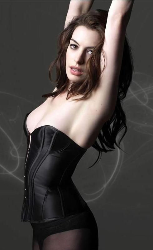 энн хэтэуэй фото белье ANNE HATHAWAY photo lingerie