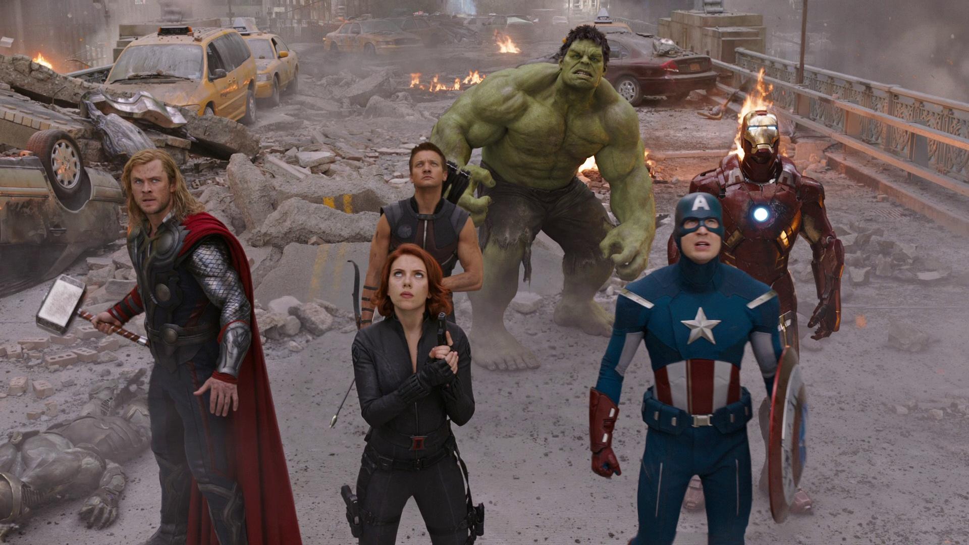 Top 250 фильмов IMDb Мстители (The Avengers) (2012)