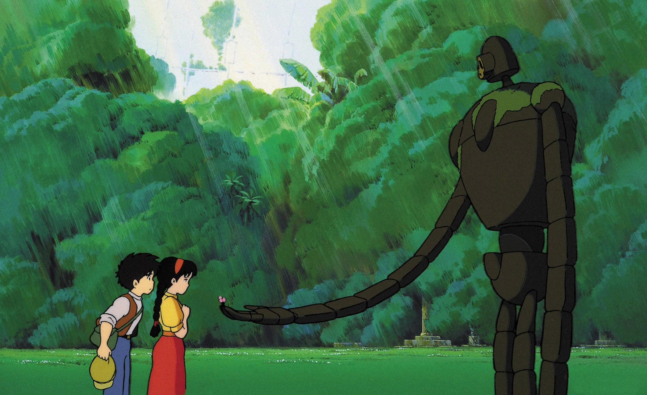 Top 250 фильмов IMDb Небесный замок Лапута (Tenkû no shiro Rapyuta) (1986)