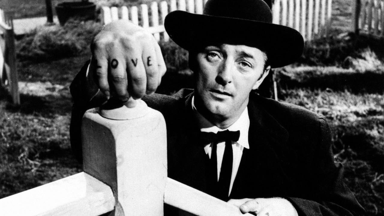Top 250 фильмов IMDb Ночь охотника (The Night of the Hunter) (1955)