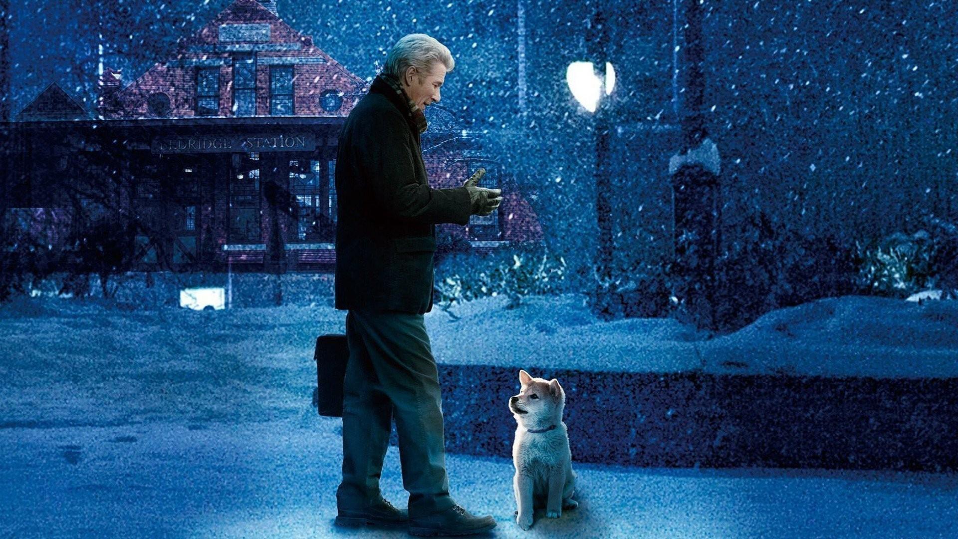 Top 250 фильмов IMDb Хатико самый верный друг (Hachi A Dog's Tale) (2009)