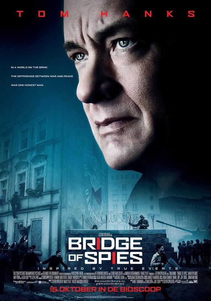 Мост шпионов постер Том Хэнкс Стивен Спилберг