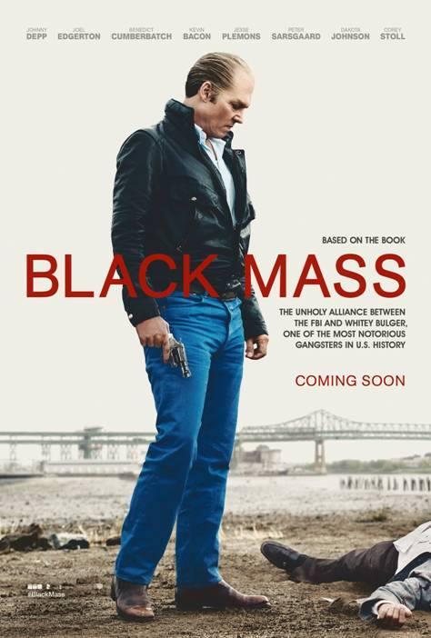 Постер фильма Черная месса с Джонни Деппом