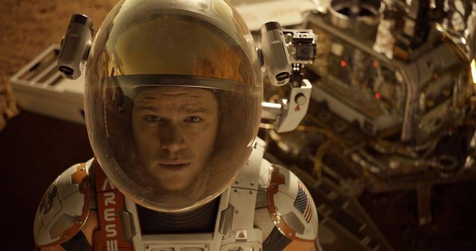 Трейлер Марсианин (The Martian)