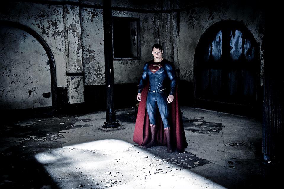 На заре справедливости кадры Супермен