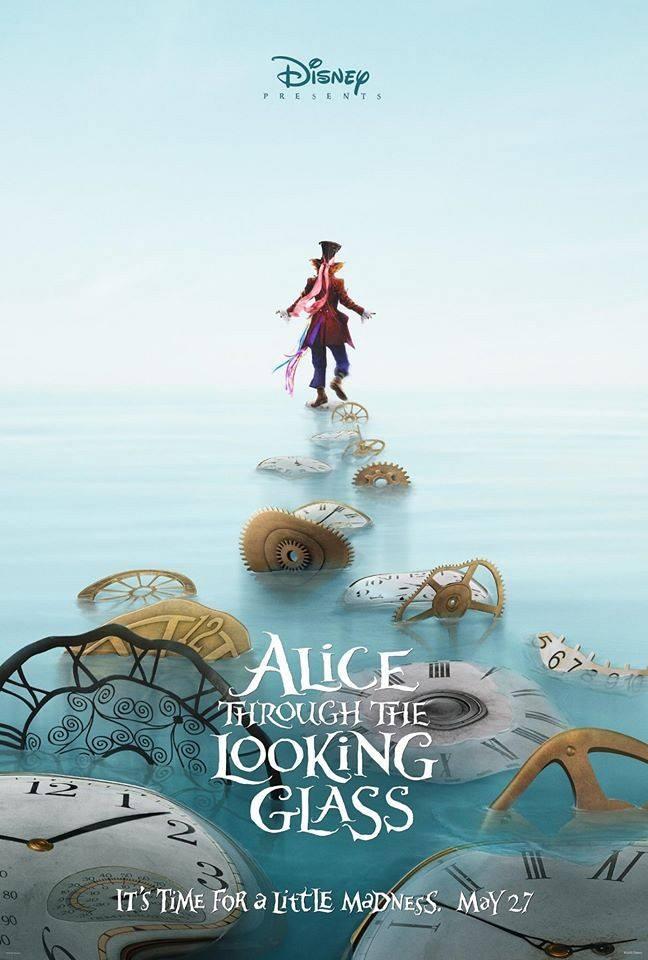 Алиса в Зазеркалье постеры