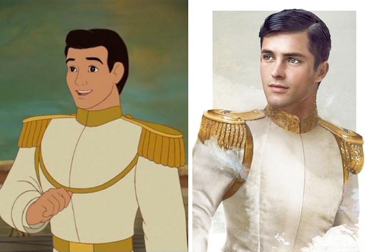 """Прекрасный принц из """"Золушки"""""""