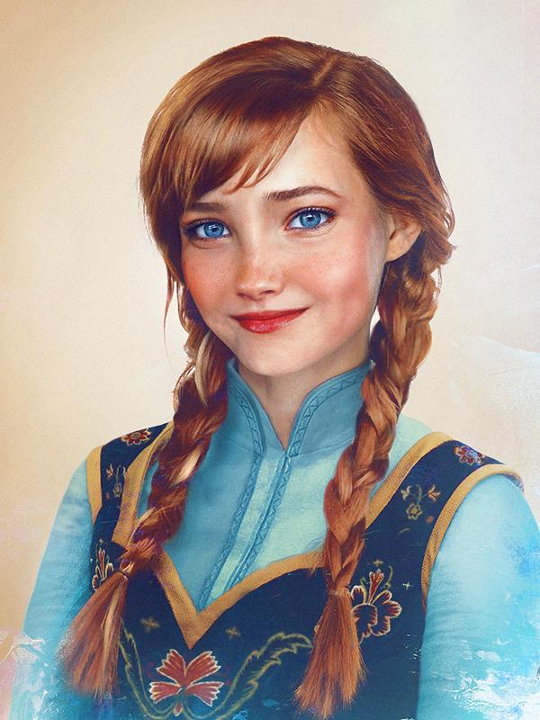 """Принцесса Анна из """"Холодного сердца"""""""