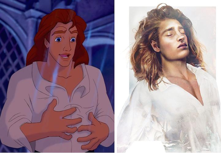 """Принц Адам из """"Красавицы и Чудовище"""""""