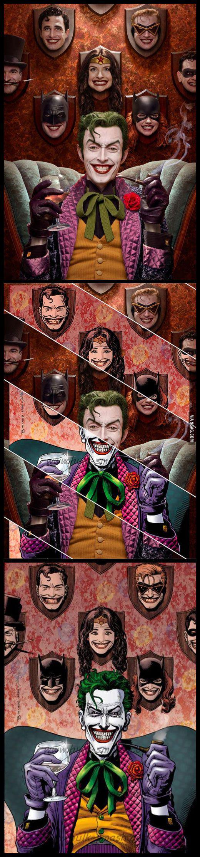 Джокер Бэтмен Чудо-женщина косплей