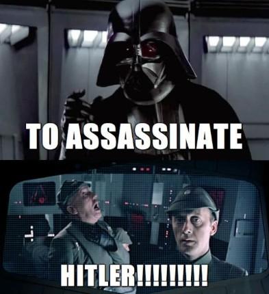 Джеймс Эрл Джонс Харрисон Форд убивают Гитлера