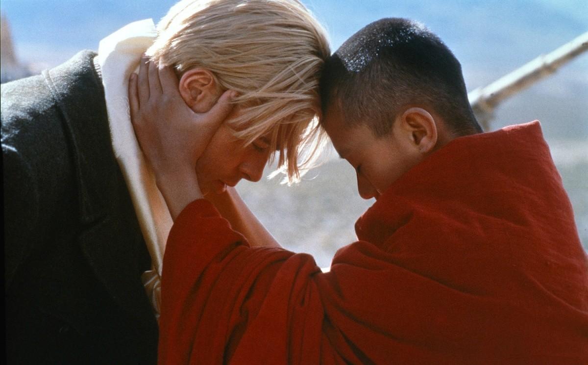 семь лет в тибете кадр