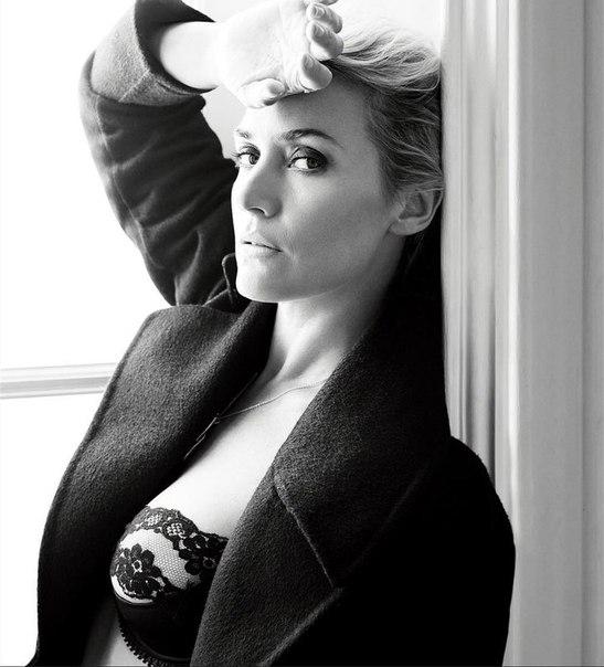 Кейт Уинслет фото для британского Esquire