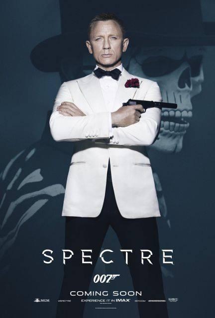 Постеры фильма о Джеймсе Бонде